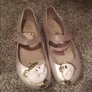Beauty and the Beast Mini Melissa Shoes